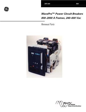 Renewal Parts DEF-004