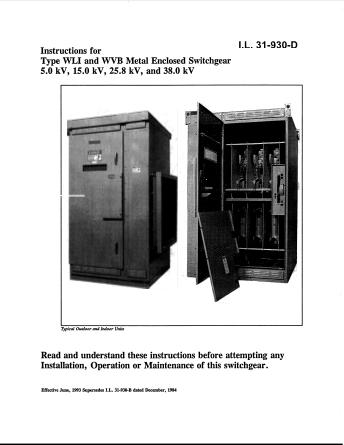 Instructions I.L. 31-930-D