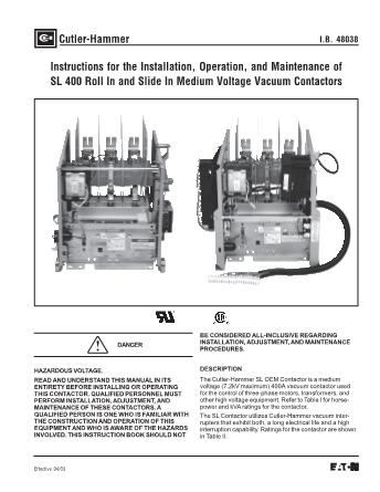 Instructions IB48038