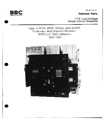 Renewal Parts RP 6.1.2.8-2C