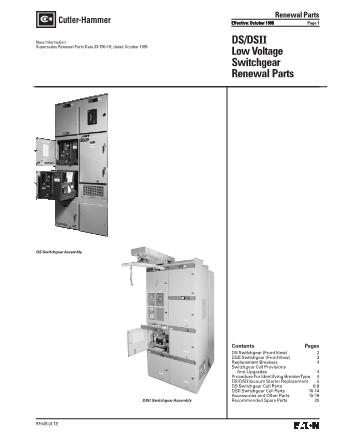 Renewal Parts RP.44B.01.T.E