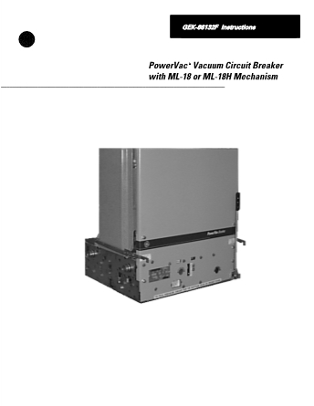 Instructions GEK-86132F
