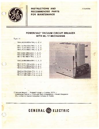 Instructions GEK-90208