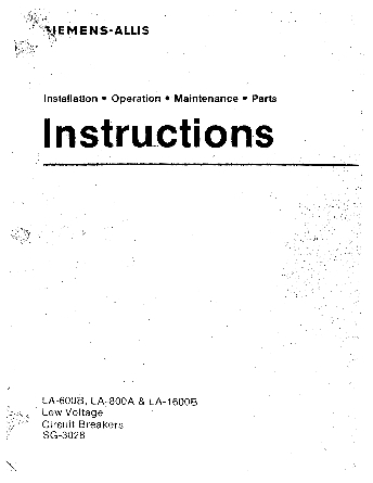 Instruction Mannual
