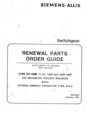 Renewal Parts