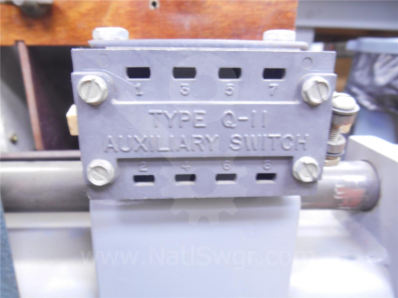 SA AUXILIARY SWITCH ASSEMBLY 2NO/2NC