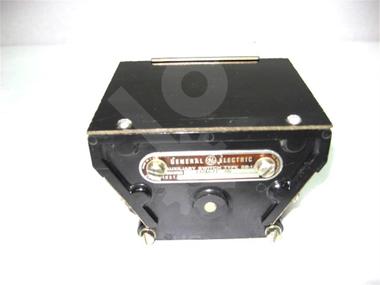 General Electric GE SB-12 AUXILIARY SWITCH 5NO/5NC