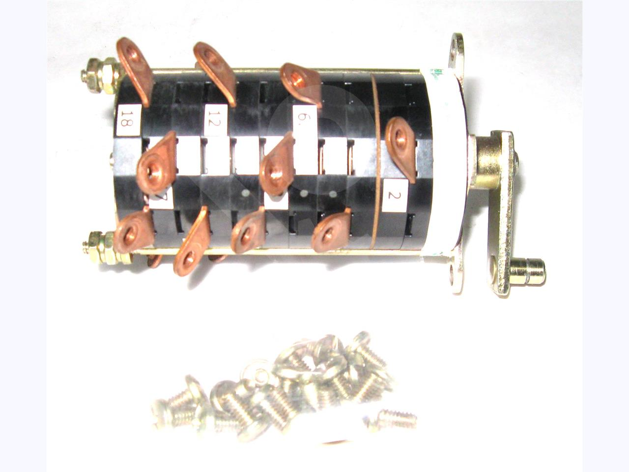 Westinghouse / Cutler Hammer CH AUXILIARY SWITCH ASSEMBLY, 5NO/5NC