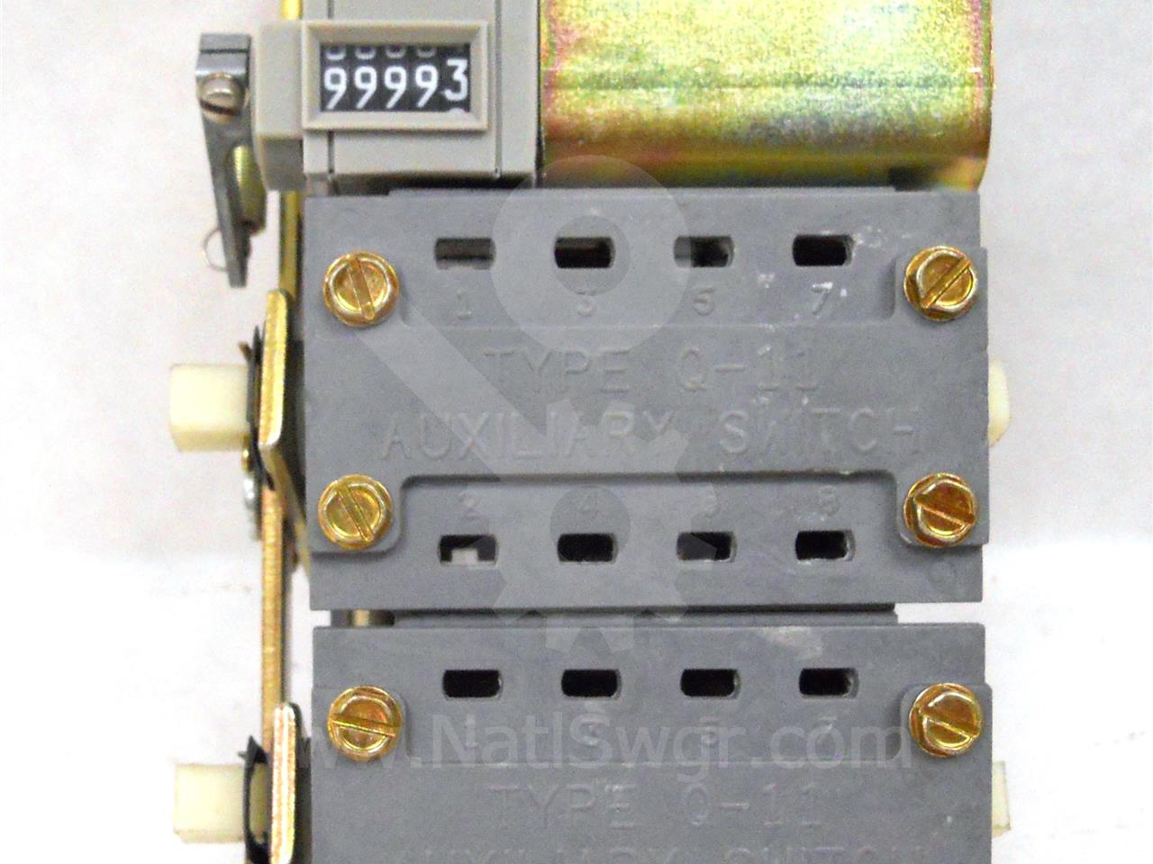 SA TWO HIGH AUXILIARY SWITCH ASSEMBLY 4NO/4NC