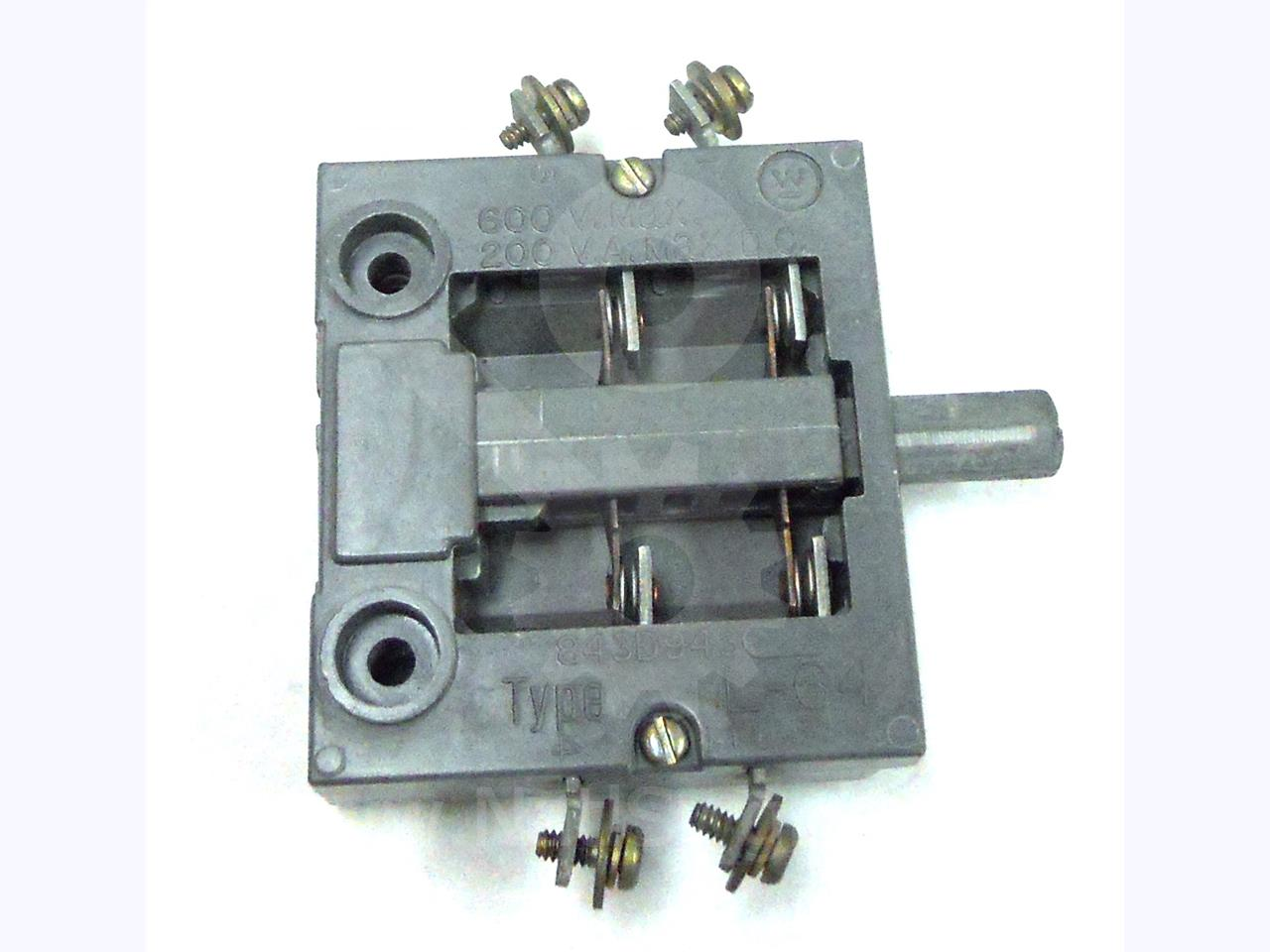 Westinghouse / Cutler Hammer WH L-64 AUXILIARY INTERLOCK SWITCH 2NC