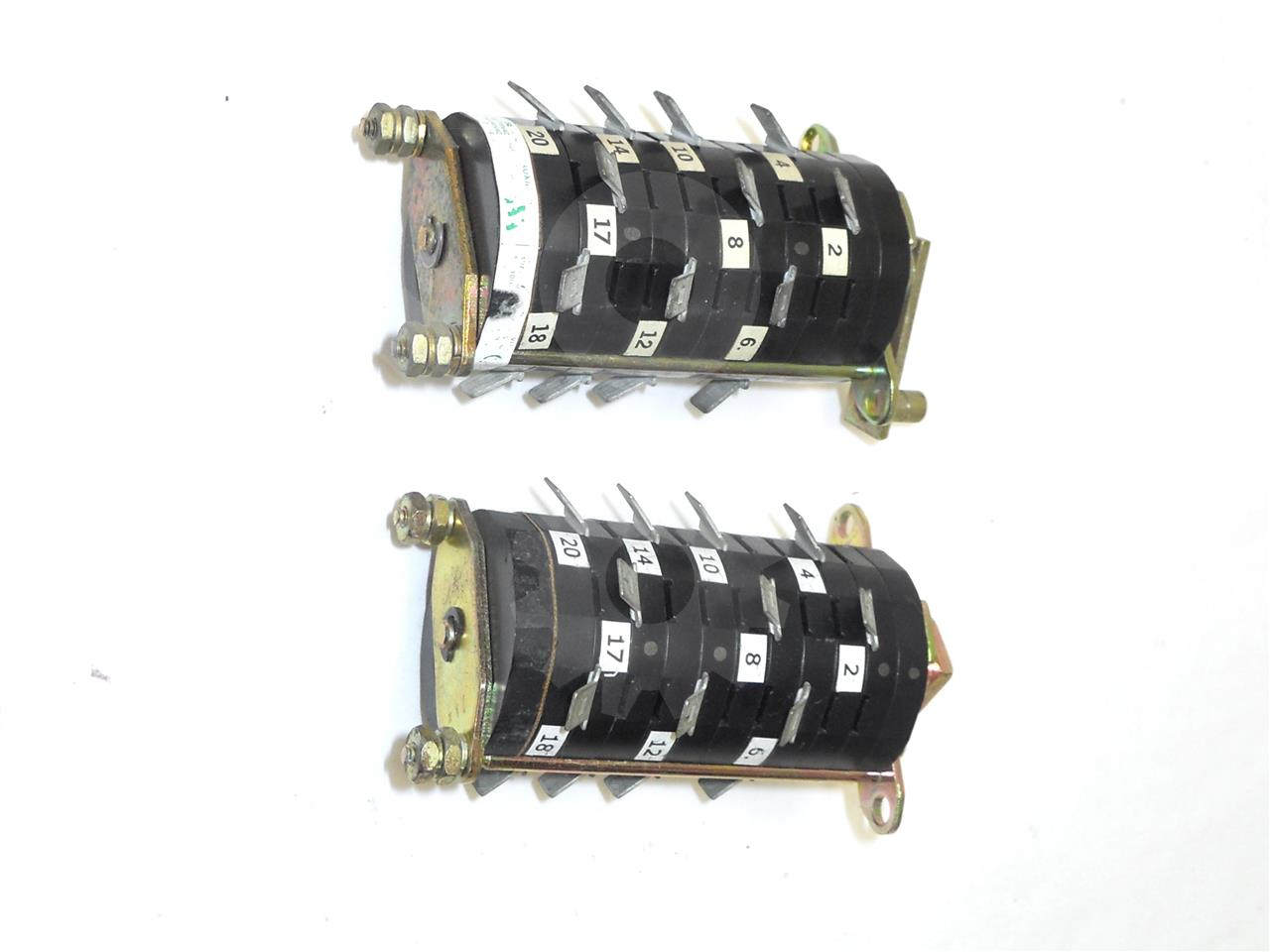 698B822H01 Westinghouse AUXILIARY SWITCH ASSEMBLY 5NO/5NC