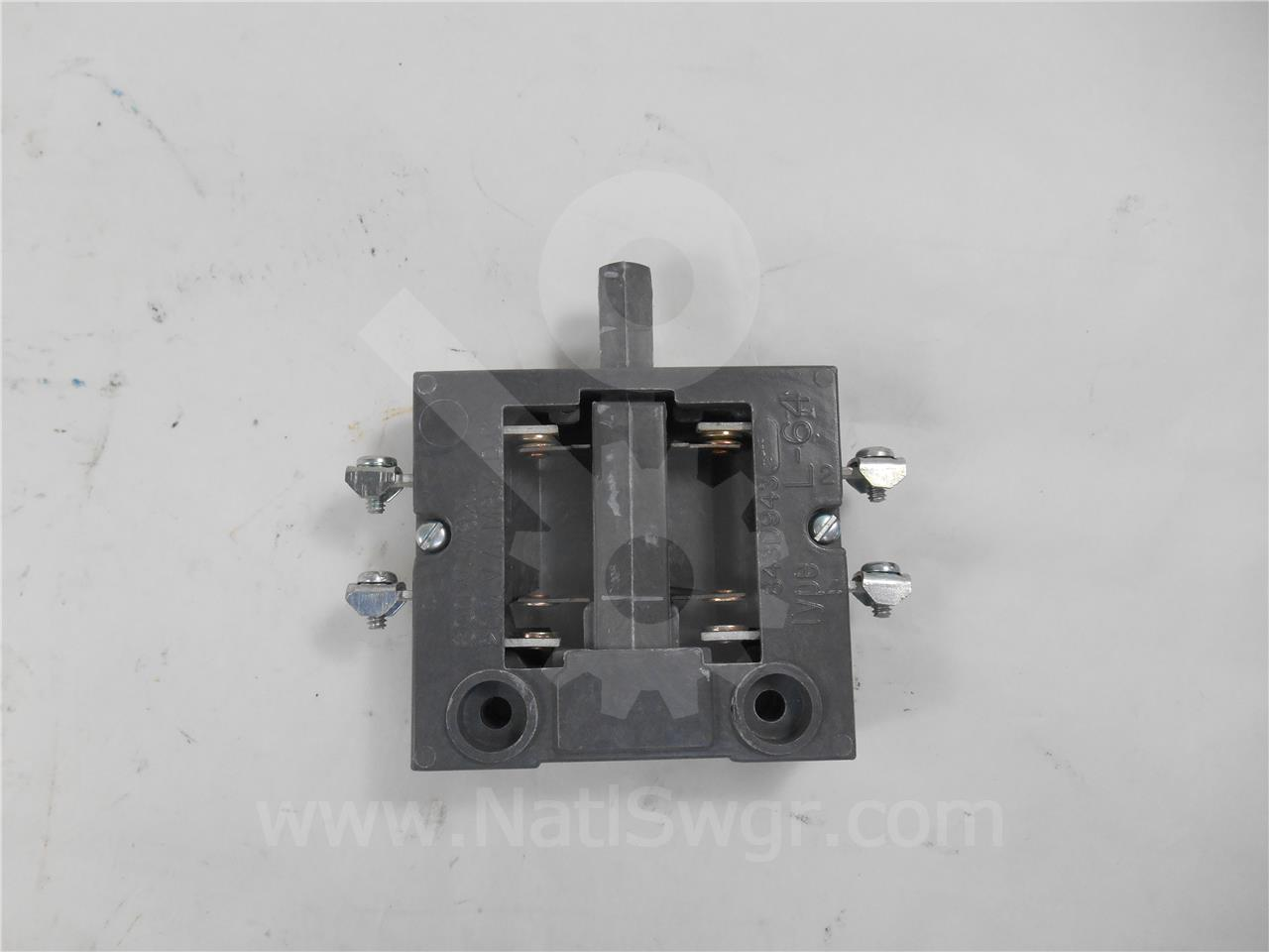 Westinghouse / Cutler Hammer WH L-64 AUXILIARY INTERLOCK SWITCH 1NO/1NC NEW