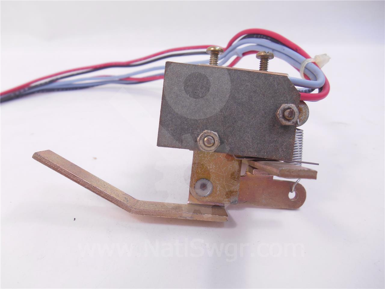 Westinghouse / Cutler Hammer WH AUXILIARY SWITCH ASSEMBLY 2NO/2NC