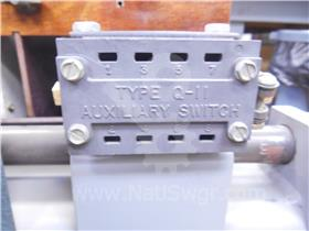 SA AUXILIARY SWITCH ASSEMBLY 2NO/2NC 004-023
