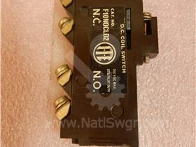 ITE AUXILIARY SWITCH ASSEMBLY 1NO/1NC