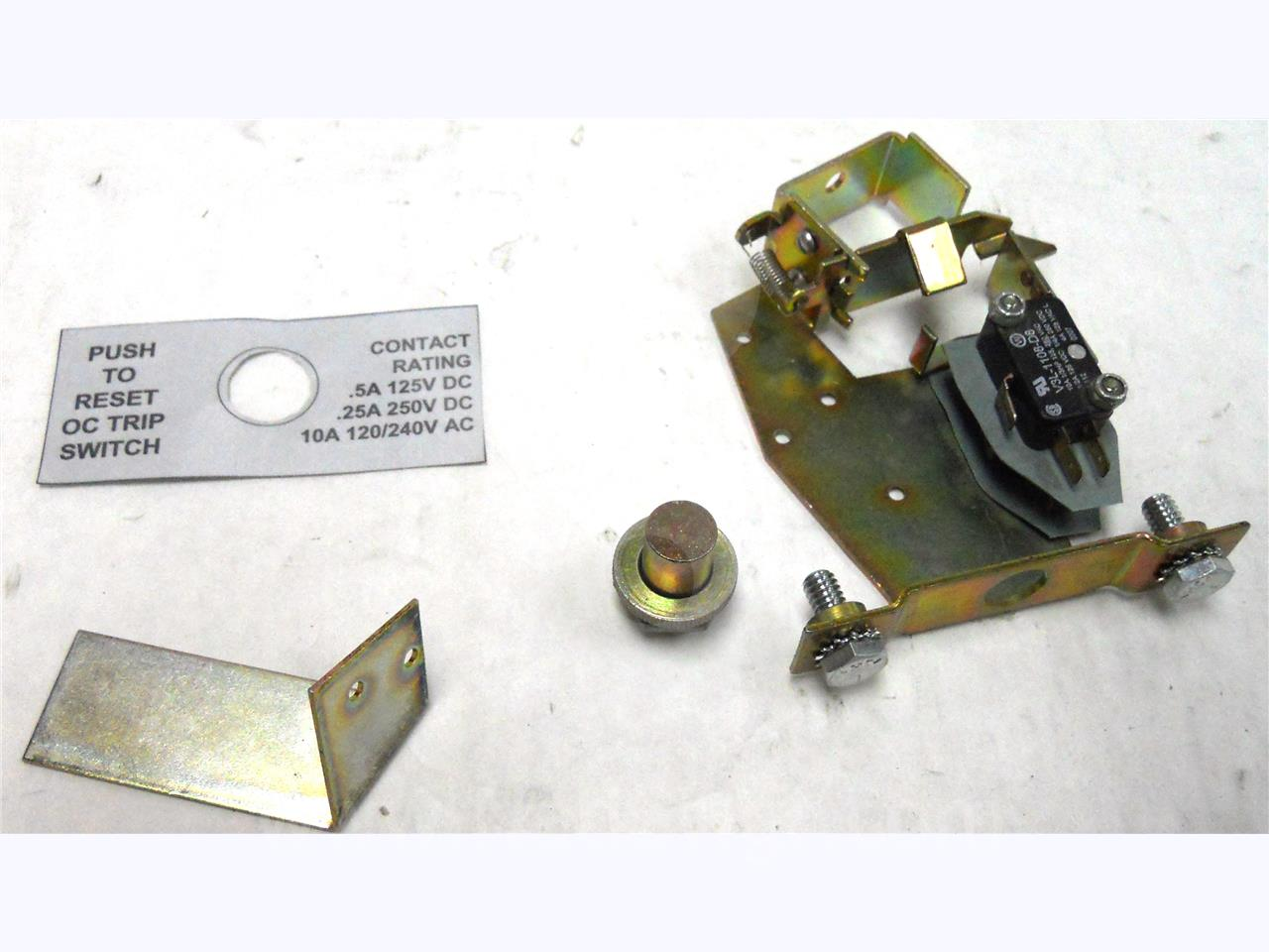 WH OTS DUAL BELL ALARM ASSEMBLY, MANUAL RESET