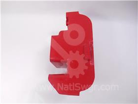 ITE RED UPPER POLE BASE MOLDING INSULATOR