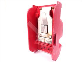 ITE RED UPPER BASE MOLDING WITH STATIONARY CONTACTS