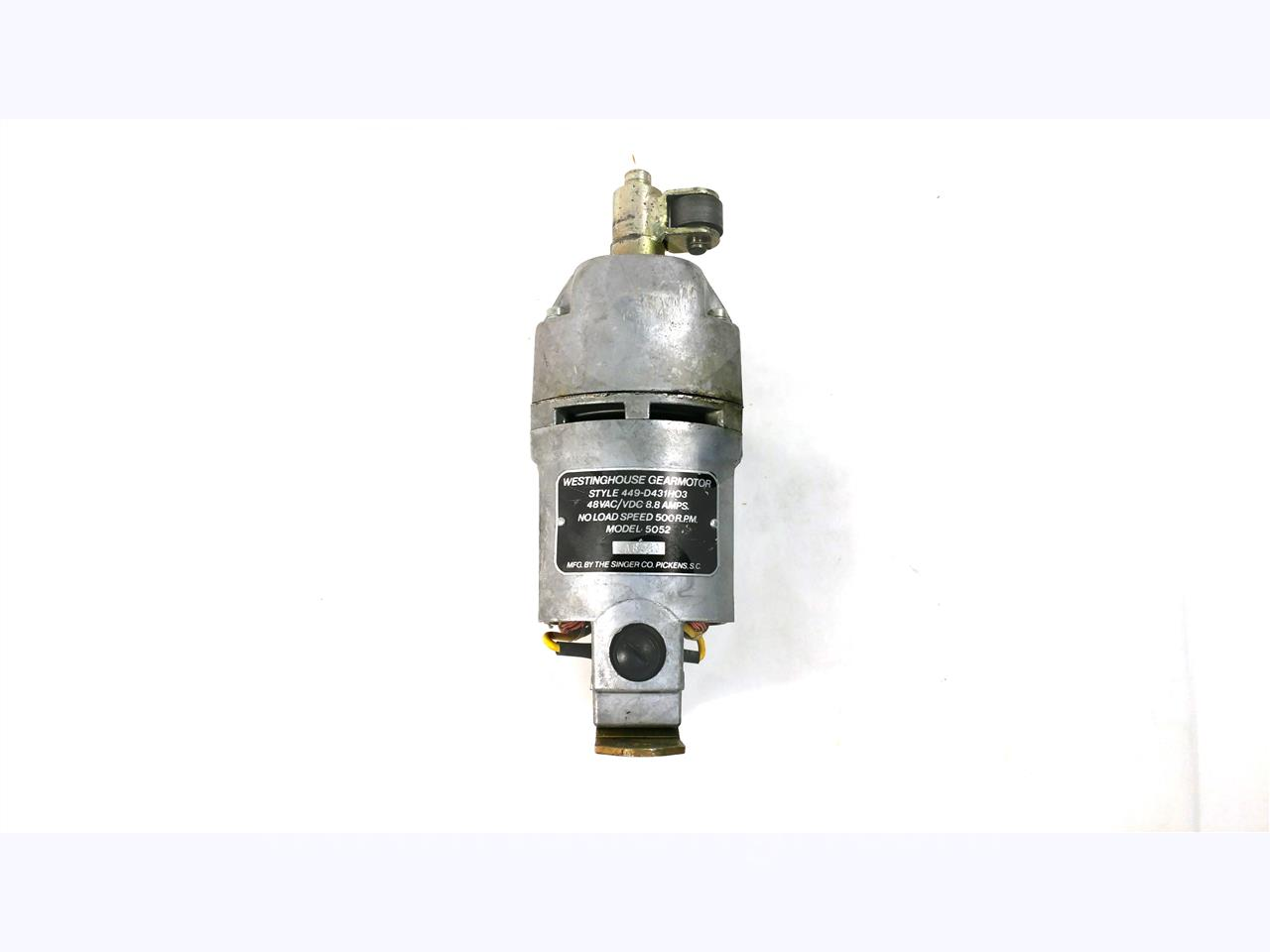 Westinghouse Cutler Hammer Wh 48vdc Charge Motor