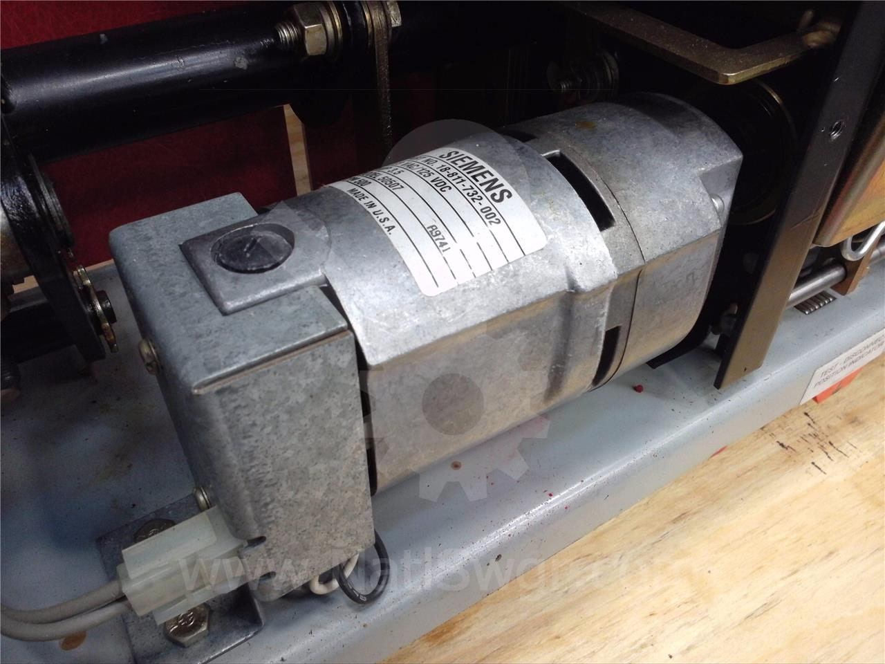 18-811-732-002 Siemens / Allis Chalmers 120VAC/DC CHARGE MOTOR FOR GMI