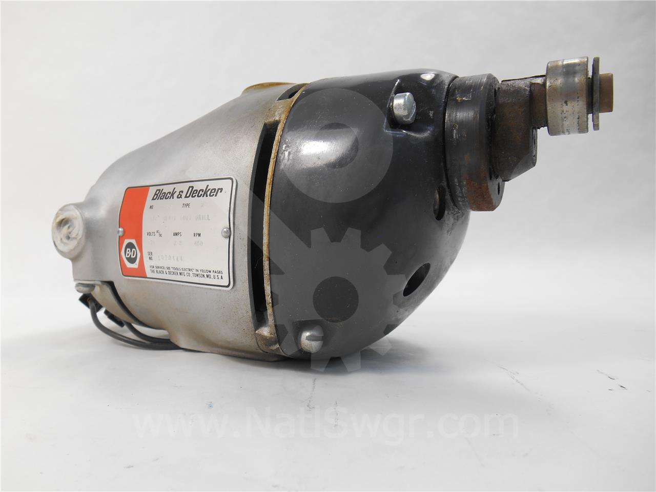 Westinghouse / Cutler Hammer WH 230VAC/DC CHARGE MOTOR
