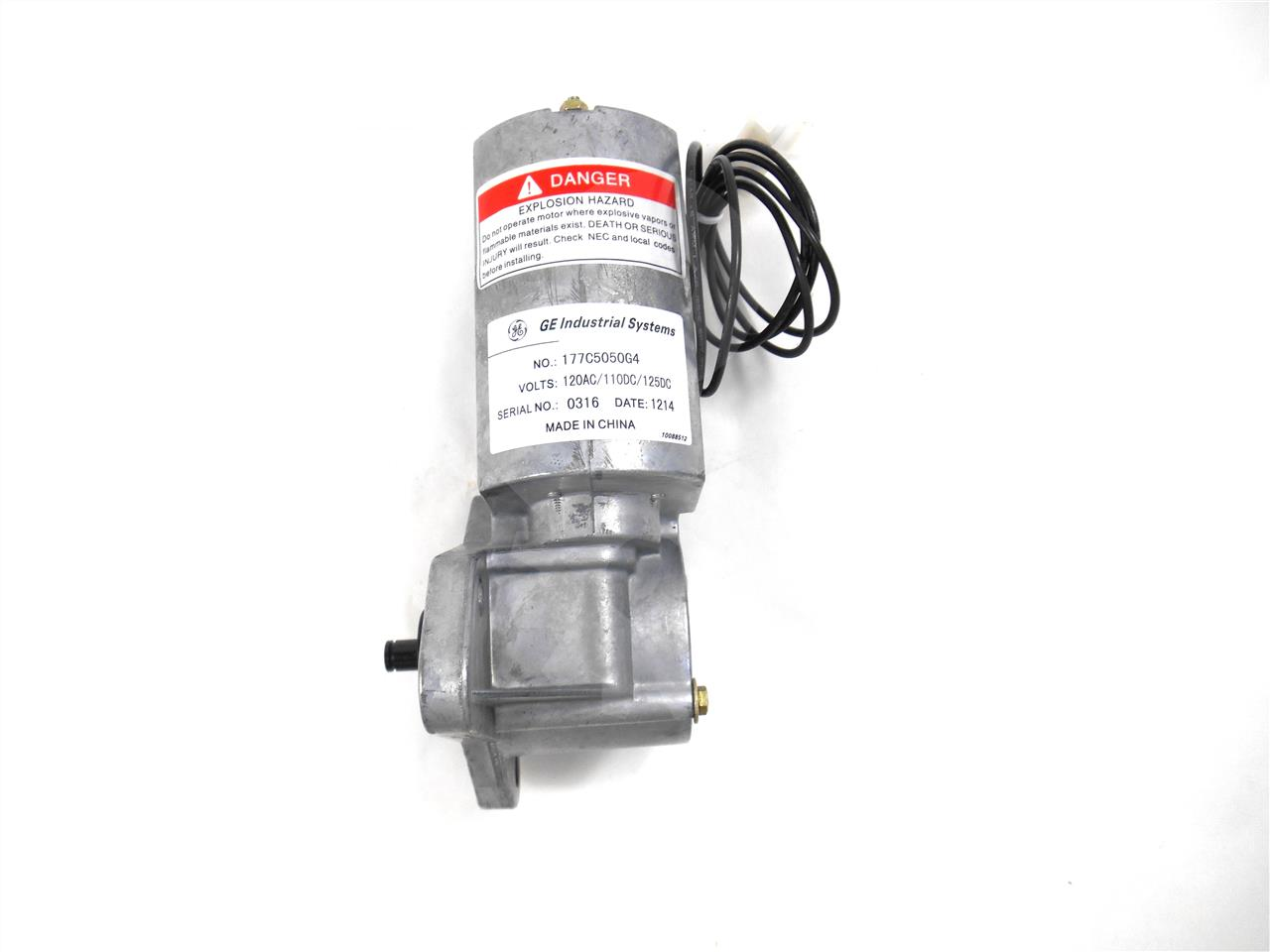 General Electric GE 120VAC / 125VDC CHARGE MOTOR, NEW
