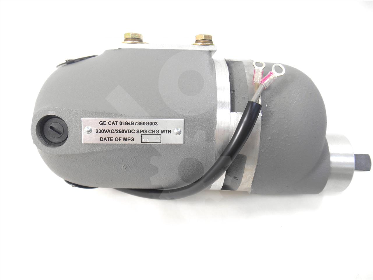 General Electric GE 230VAC / 250VDC CHARGE MOTOR, NEW