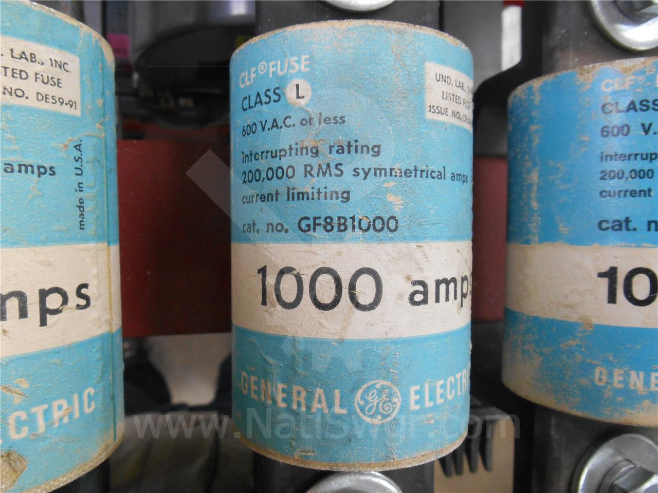 General Electric 1000A GE CURRENT LIMITING FUSE