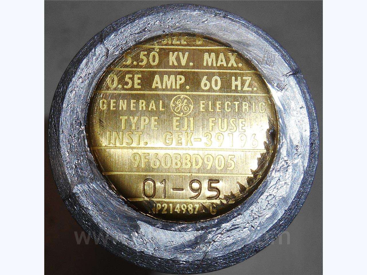 General Electric 0.5E GE EJ-1 POWER FUSE 5KV