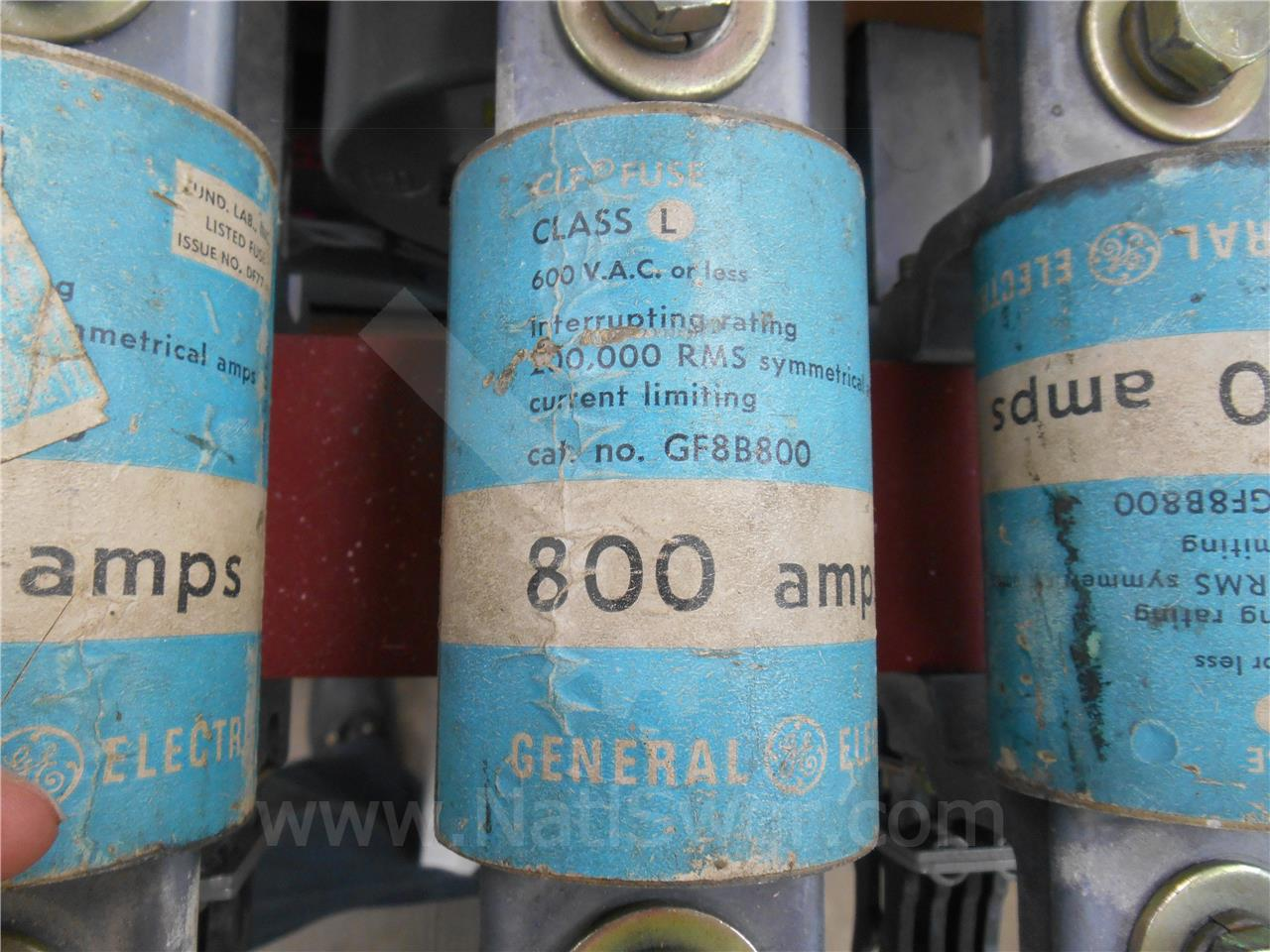 General Electric 800A GE CURRENT LIMITING FUSE