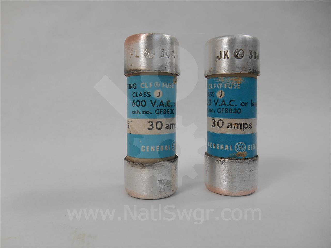 General Electric 30A GE CURRENT LIMITING FUSE