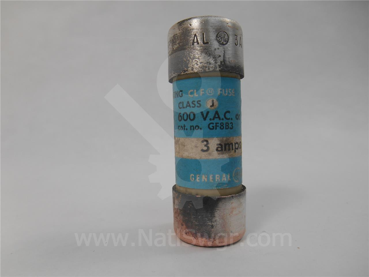 General Electric 3A GE CURRENT LIMITING FUSE
