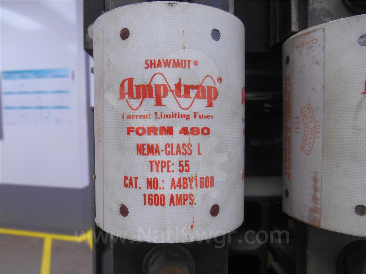 1600A SHUWMUT CURRENT LIMITING FUSE