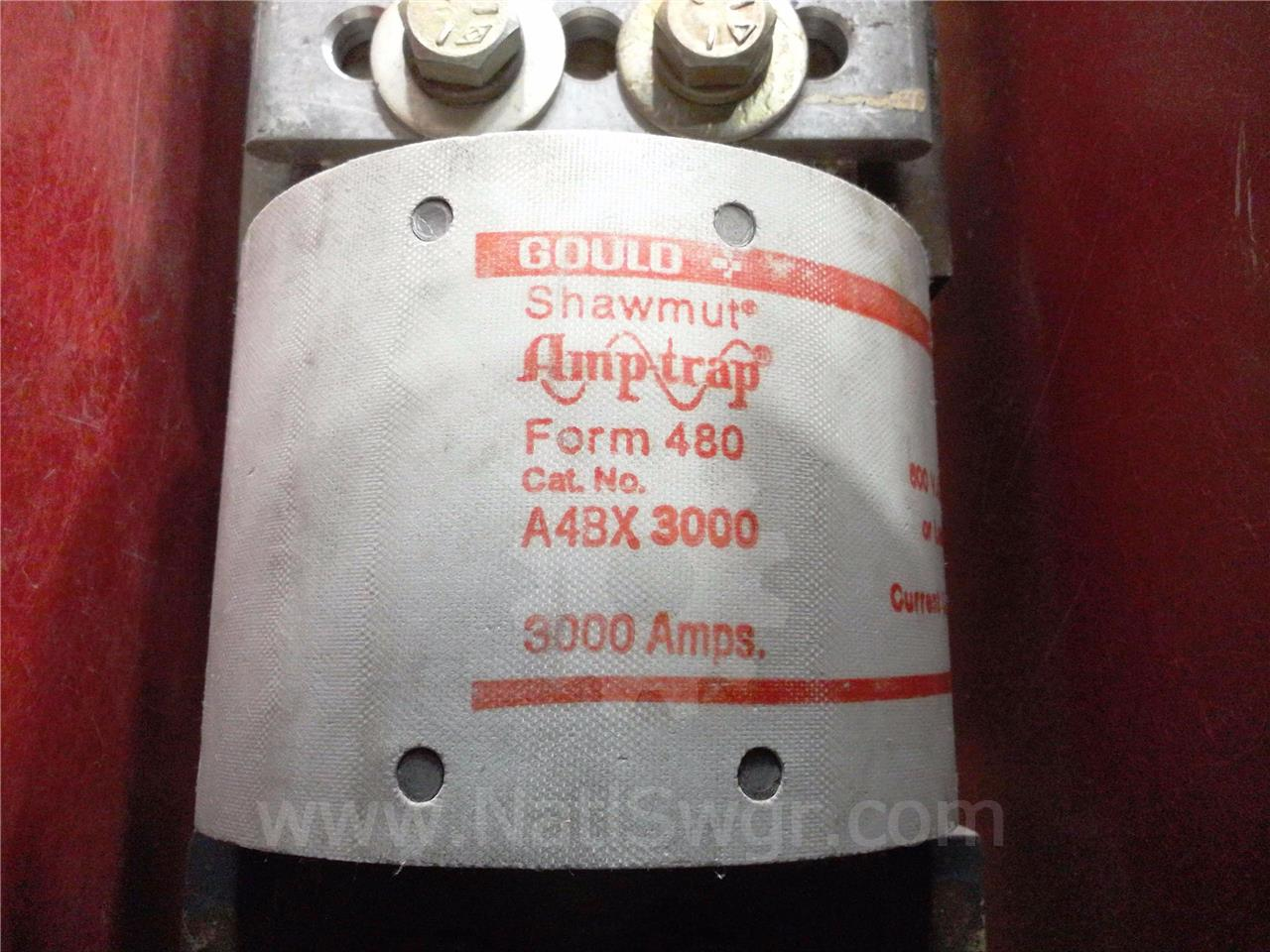 A4BX3000 3000A SHAWMUT CURRENT LIMITING FUSE FOR RLF