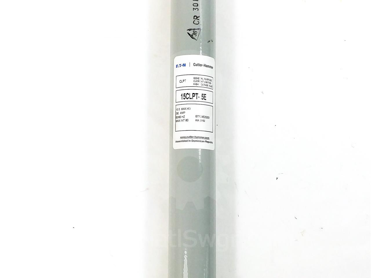 Westinghouse / Cutler Hammer 0.5E CH CLPT POWER FUSE 15.5KV