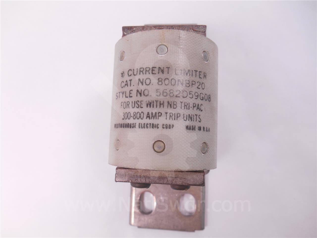 Westinghouse / Cutler Hammer 800A WH CURRENT LIMITING FUSE