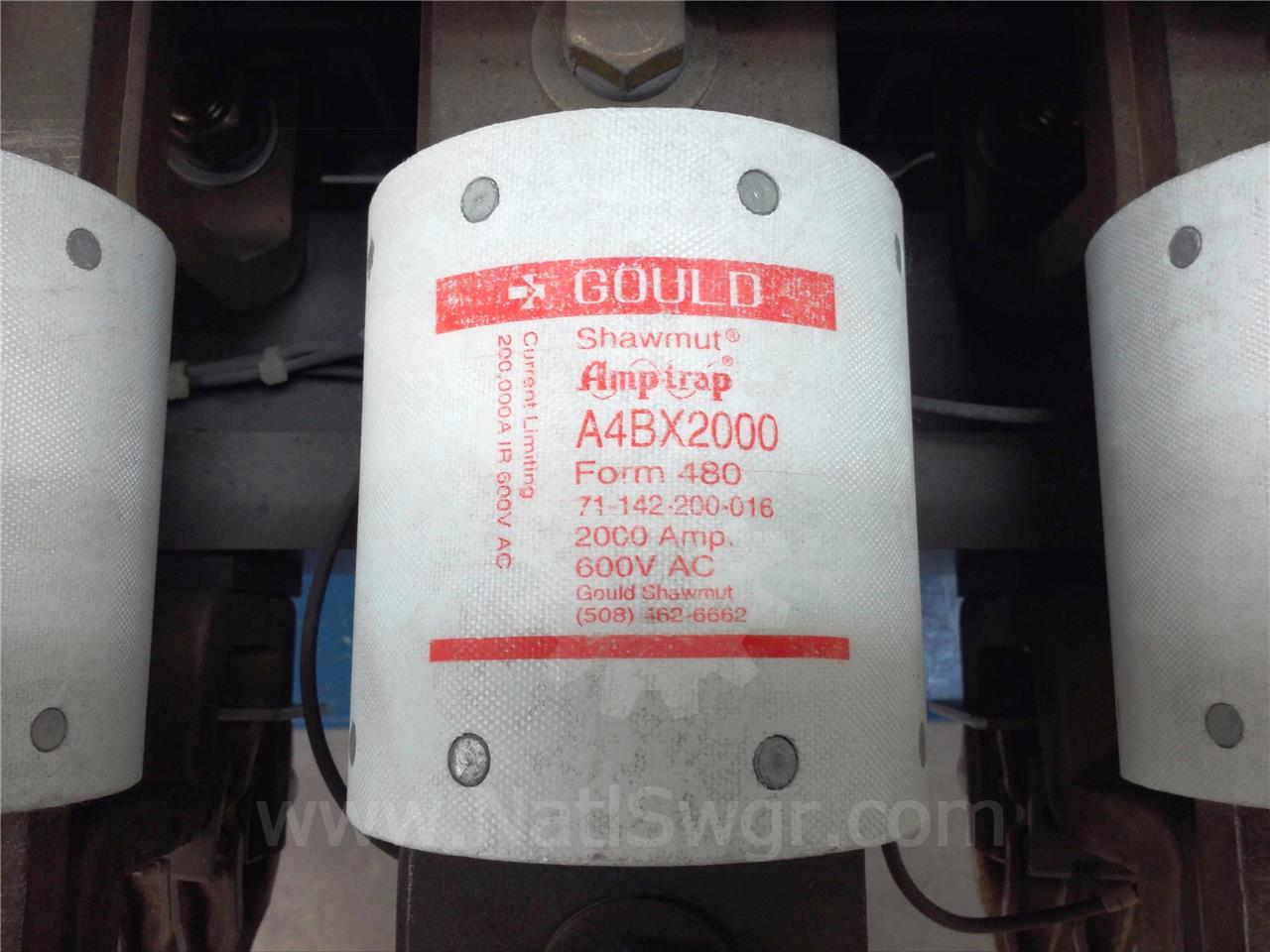 General Electric 2000A GOULD CURRENT LIMITING FUSE