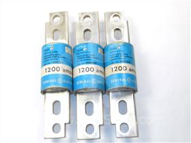 1200A GE CURRENT LIMITING FUSE 012-791