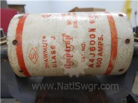 600A SHAWMUT CURRENT LIMITING FUSE 012-820