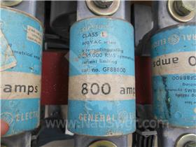 800A GE CURRENT LIMITING FUSE 012-827