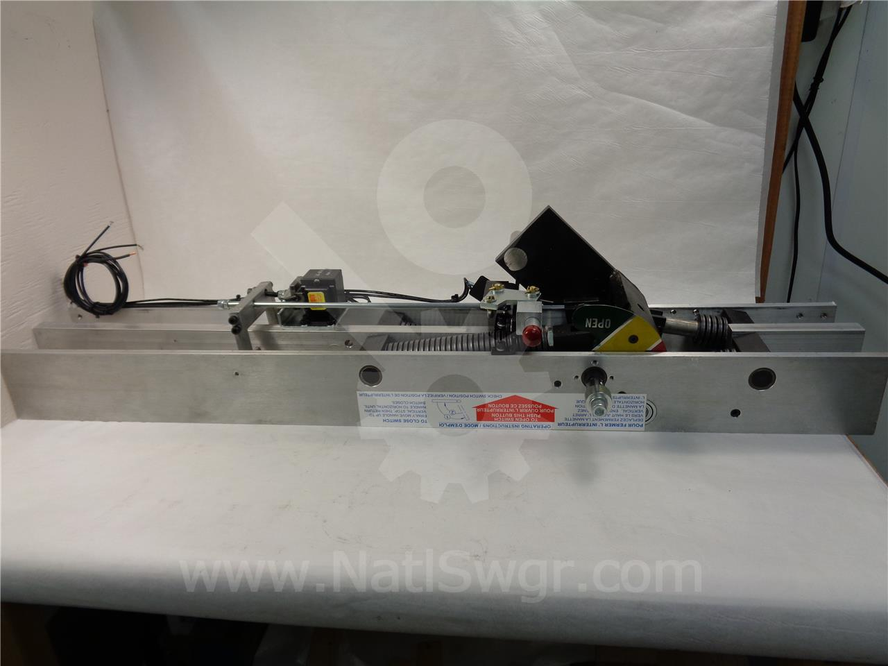MECHPC3040 PRINGLE DEAD FRONT MECHANISM NEW, MO FOR 3000A / 4000A