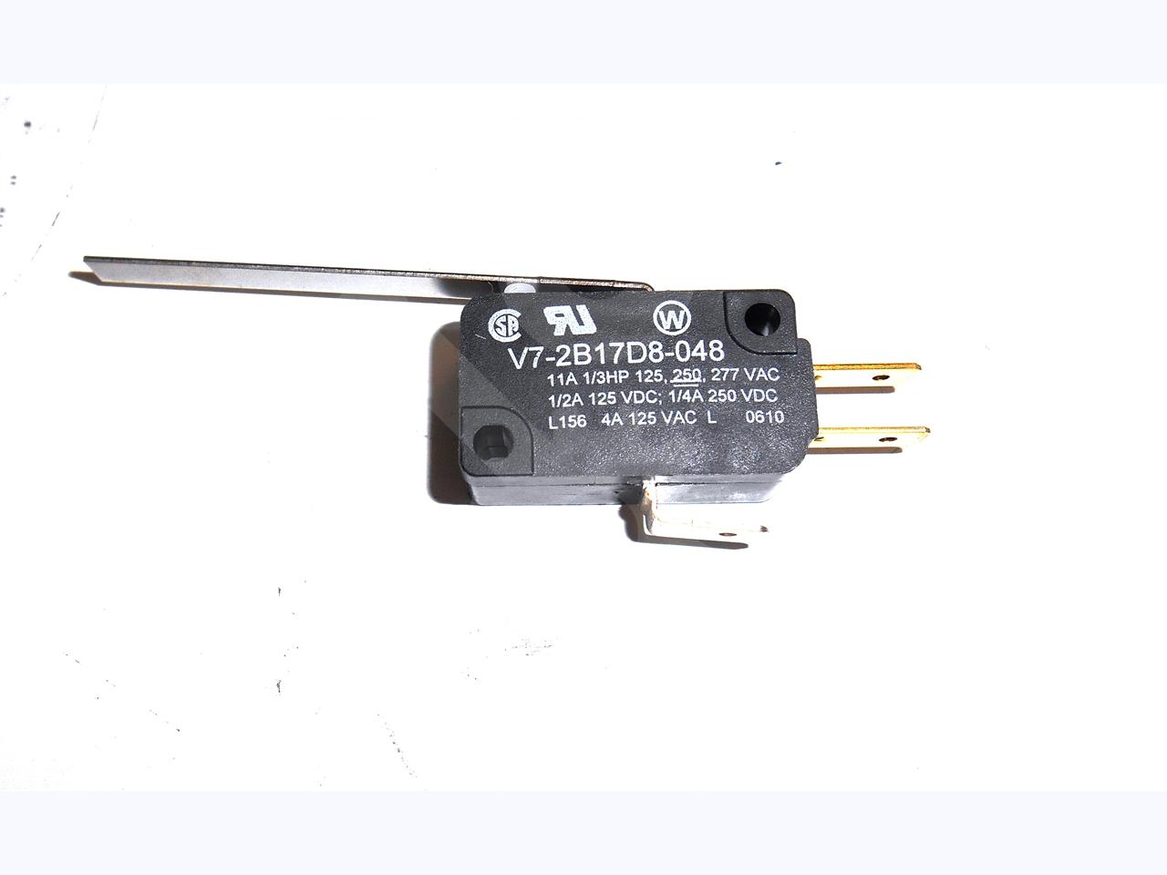 Lever Actuator Microswitch