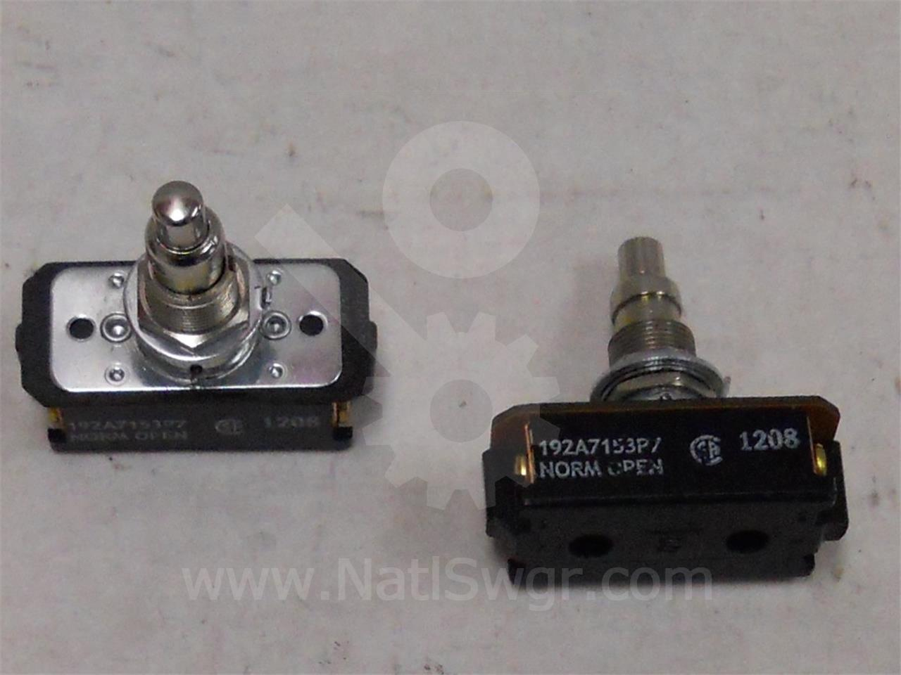 192A7153P7 GE / General Electric MOTOR CUT OFF SWITCH F 2NO FOR AK / AKR