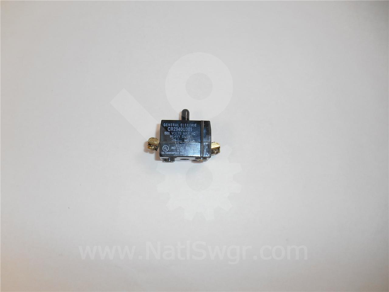0456A0866P006 GE / General Electric CONTACT BLOCK SWITCH NC NEW FOR MAGNE-BLAST WITH ML-13 MECHANISM