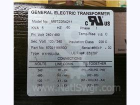 GE 2/4:1/2 CONTROL POWER TRANSFORMER 5KVA