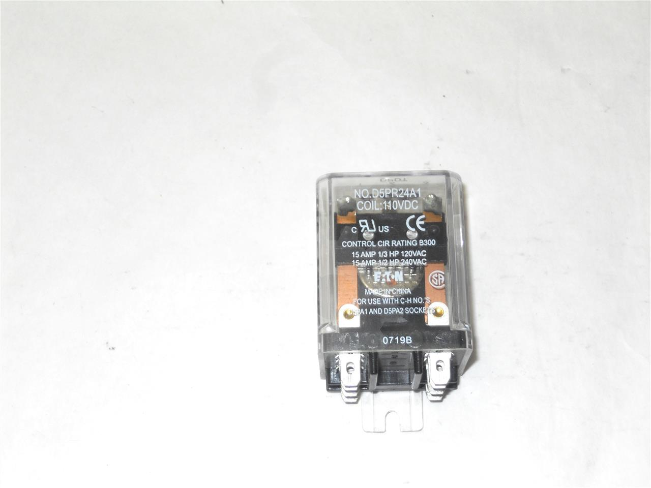 WH 125VDC CONTROL RELAY Y