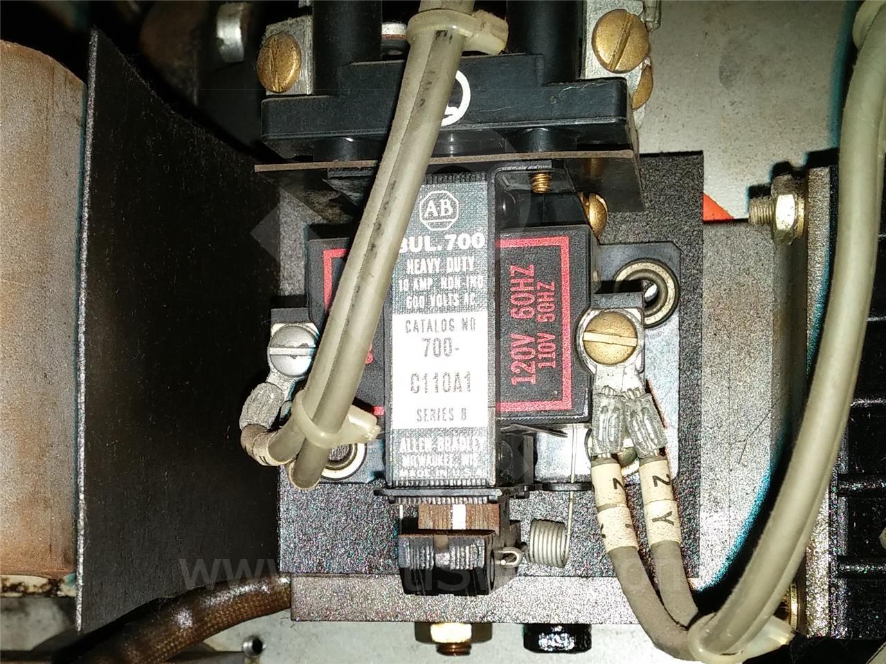 ALLEN BRADLEY CONTROL RELAY, 120VAC