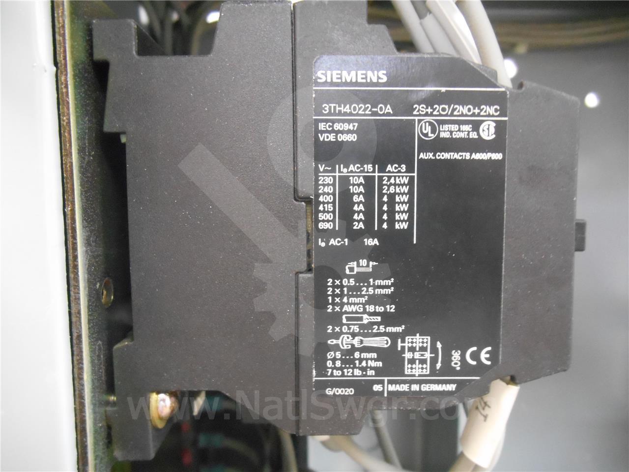 SA 120VAC CONTROL RELAY, Y