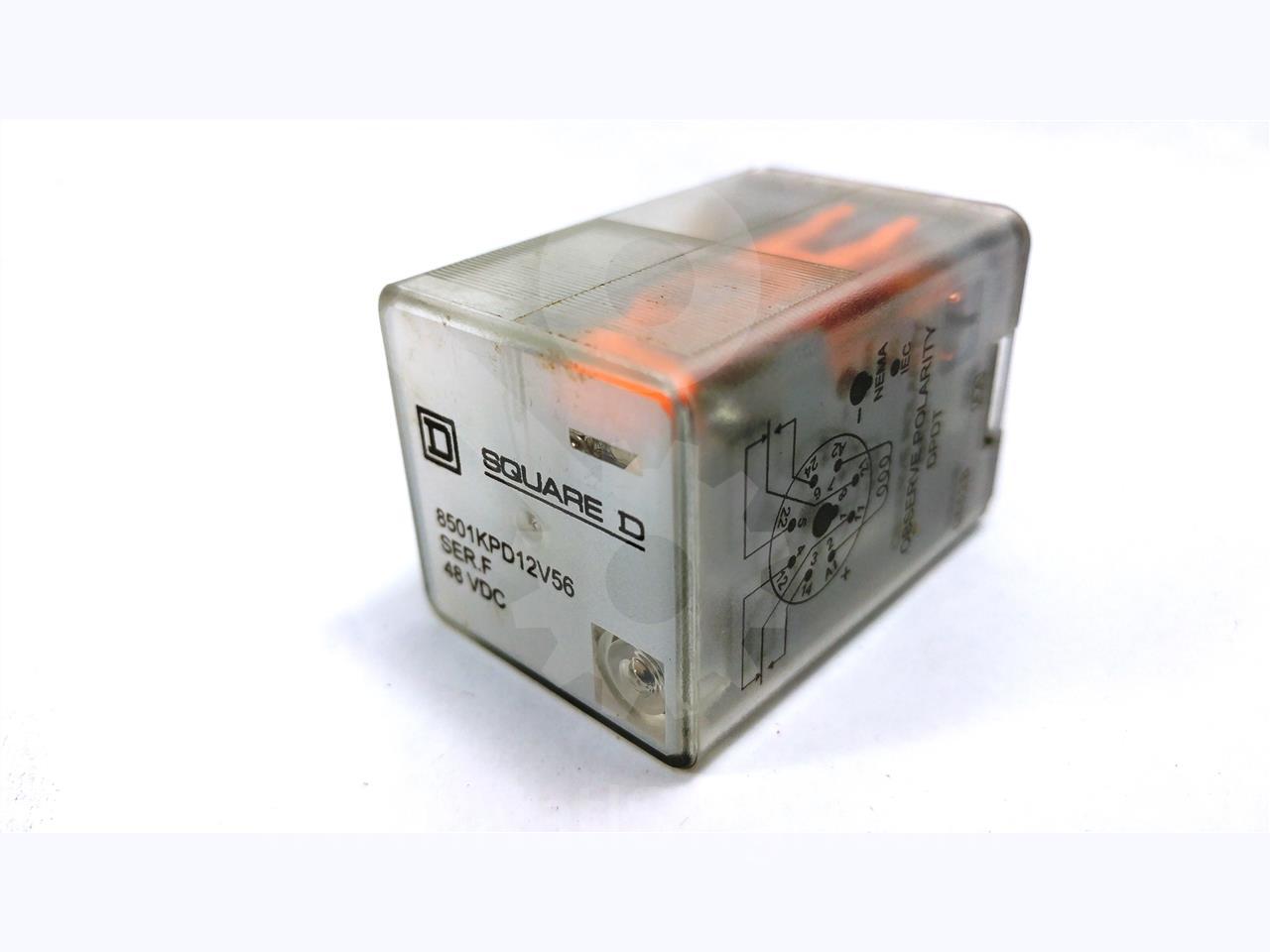 SQD 48VDC CONTROL RELAY Y