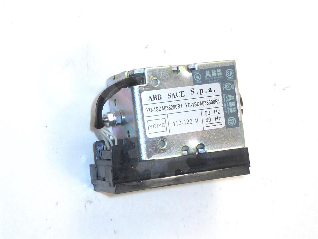 1SDA038300R1 ABB SACE 120VAC/DC CLOSE COIL ASSEMBLY FOR EMAX, 110/120V